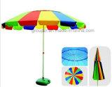 Parasole del Rainbow del fiore, ombrello di spiaggia, ombrello esterno