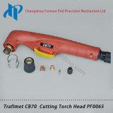 Trafimet CB70 Cabeça Tocha PF0065 Ar Maçarico de Plasma Maçarico