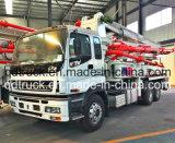 Pompe à béton montée sur camion 37M, camion pompe à béton ISUZU