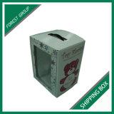 출하와 도매로 포장을%s 광택 있는 백색 물결 모양 판지 상자