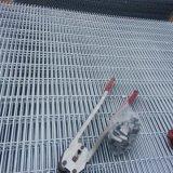 La construcción utilizó el acoplamiento de alambre soldado