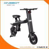 LEDの回転ライトが付いている電気自転車を折るOnebotの移動性のスクーター