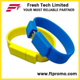 Lecteur flash USB de bracelet de silicium (D192)