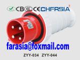 4p 6h IP44 63A Cee / IEC PP / PA Económica Plug Industrial