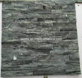 Popular Wood Grain Black Marble Cultural Stone