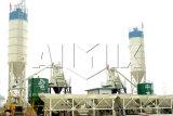 Planta concreta automática del PLC del certificado del Ce (HZS50), tipo sólido planta de mezcla concreta