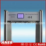 China-Hersteller-hoher Empfindlichkeits-Türrahmen-Metalldetektor mit 8zones