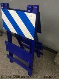 Jiachen blaue entfernbare Plastikbarrikade-Fabrik-Großverkauf-Verkehrssicherheit