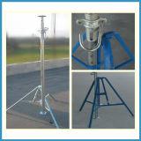 構築サポートのための調節可能で頑丈な鋼鉄支柱
