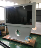 Un pavimento da 55 pollici che si leva in piedi il chiosco esterno dello schermo di tocco per la pubblicità esterna dell'affissione a cristalli liquidi (MW-551OE)