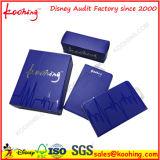 Элегантный синий картонный ящик для косметики упаковка
