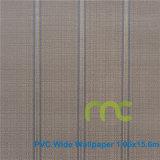 Le design de mode de papier peint papier peint gaufré de PVC