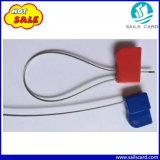 O fio de aço de cor vermelho azul etiqueta RFID de vedação para a logística de contentores