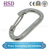 Conexão de hardware simples304/316 de Aço Inoxidável o gancho da mola