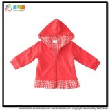 Red Color Baby Clothes Gots Infant Jacket