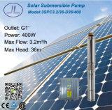 sistema de bomba solar submergível da C.C. do aço 400W inoxidável