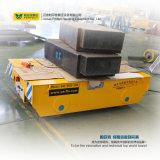 Acoplado motorizado carretilla automatizado del carril del carrete de cable