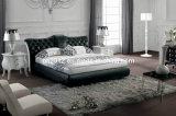 熱い販売の本革のベッド(SBT-5820)