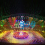 Schermo dell'interno della fase della visualizzazione di LED dell'affitto di colore completo P3