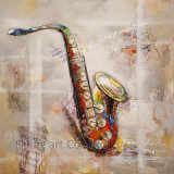 Kleurrijke Olieverfschilderijen Art voor Cows met Heavy Texture