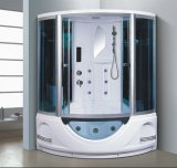 1350mm Sector Steam Sauna with Jacuzzi (AT-G8846)