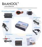 Inseguitore 104 di GPS GPRS GSM dell'automobile del veicolo con il veicolo antifurto GPS dell'allarme incorporato della batteria che segue la spina GPS104 del GUS dell'unità