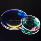 Giai Vis-Nir Revestido Cilíndrico Bi-Convex Bi-Concave Optical Lens Prototype