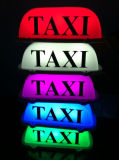 Muestra 12V del taxi de la azotea de la luz superior LED del taxi con la base magnética