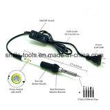 [60و] [110ف] [موبيل فون] درجة حرارة كهربائيّة قابل للتعديل عمليّة لحام حديد