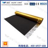 Excellente mousse EVA isolante avec une sous-couche en aluminium doré