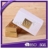 Personalizada de fábrica de lujo del pelo de papel Cajas de empaquetado con la ventana clara