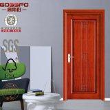 内部の木の赤いカシのベニヤMDFのドア(GSP8-016)