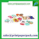 Подгонянный шарж напечатал бумажную бирку Hang