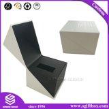 Коробка ювелирных изделий подарка вахты индикации браслета ожерелья бумажная упаковывая