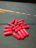 Pillules de régime pertinentes intenses grasses d'actifs de couleur rouge