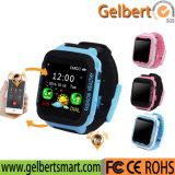 GPS van de Telefoon van de Drijver van de Veiligheid van kinderen Jonge geitjes anti-Verloren Slim Horloge voor Androïde/Ios