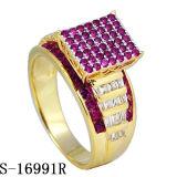 최신 모형 형식 보석 다이아몬드 반지 은 925