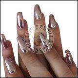 Роуз золото хром Эффект зеркала заднего вида лак для ногтей пигмента порошок