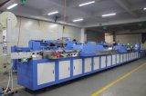 Печатная машина экрана 3 ярлыков одеяния цветов автоматическая с приложением