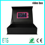 Bildschirm-Luxuxdigital-Videokarten Broschüre 7 Zoll-TFT LCD und Geschenk-Kasten
