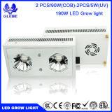 La planta del LED crece la MAZORCA ligera LED de 190W 2PCS 90W que el espectro completo ULTRAVIOLETA LED crece las luces para las plantas de interior