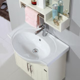 衛生製品洗面器が付いている白いMDFの浴室の家具のキャビネット
