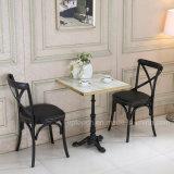 Design requintado mobiliário cadeira de madeira define para restaurante e cafetaria (SP-CT843)