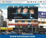P6mm que hace publicidad de la pantalla al aire libre a todo color de la cartelera LED