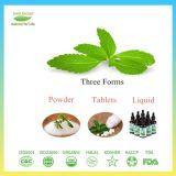 Hautement concentré extrait de feuilles de Stevia poudre pure sans additifs