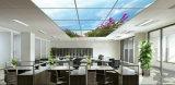 Le bon modèle décoratif lambrisse la couleur changeant le panneau du plafond DEL de lucarnes de DEL