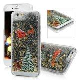 Картина Rudolph рождественской елки плавая роскошное iPhone 5 аргументы за Sparkle яркия блеска Bling