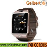 Qw09アンドロイド4.42の二重コアSIMカードのスマートなBluetoothのスポーツの腕時計