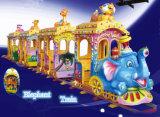 Theme Park Tour utiliza Trackless elefantes viaje en tren para niños