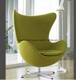 プロジェクトファブリックソファのソファーの居間の余暇の卵の椅子(HX-EC037)